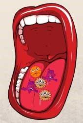 چرا تمیز کردن زبان مهم است
