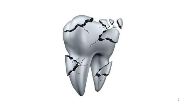 0 2 - ترک خوردن و شکستن دندان