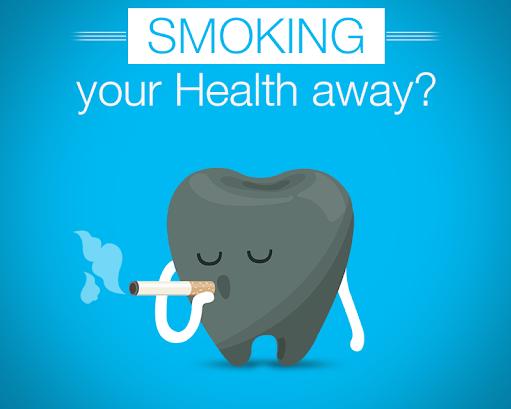 6 - کشیدن سیگار و سلامت دهان و دندان