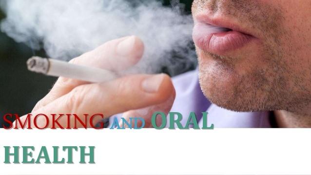 کشیدن سیگار و سلامت دهان
